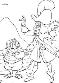Small Picture PirateShipColoringPagesPrintable Captain Hook and Smee
