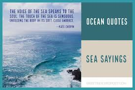 Sea Quotes Custom Ocean Quotes And Sea Sayings To Marvel At Greeting Card Poet