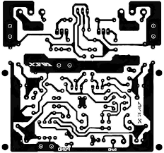 Pcb layout design electronic circuit