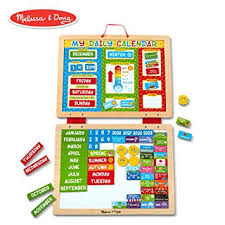 Daily Picture Calendar Melissa Doug My First Daily Magnetic Calendar