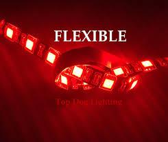 Utv Led Light Strips Red 4 Pcs Atv Utv 4 Wheeler Led Light Set Top Dog Lighting