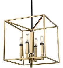 elk lighting 67754 4 mandeville satin brass oil rubbed bronze 4 light undefined