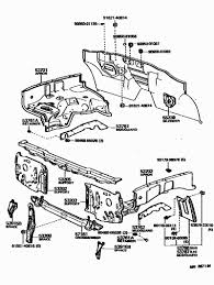Toyota ta a parts diagram elegant 1983 body parts support