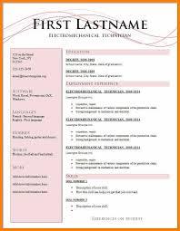 6 Latest Biodata Format Edu Techation