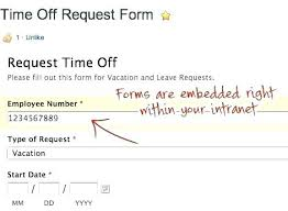 Application For Leave Form Magnificent Determining Time Off Email Template Saving Templates Policy Free