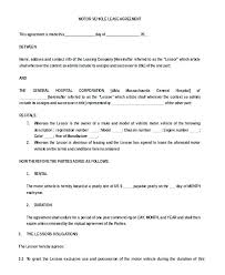 Basic Lease Agreement Simple Commercial Lease Agreement Form Free From Download