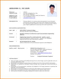 Latest Resume Template Best of The Latest Resume Format Targergolden Dragonco Latest Resume