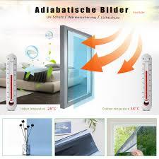 Rh Art Fensterfolie Sonnenschutz Uv Schutz Blickdicht Spiegelfolie