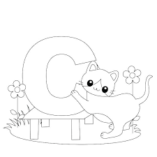 Alphabet Coloring Pages Printables Homelandsecuritynews
