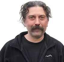 Mike Santos. Iditarod Runner and Owner of Wolf's Den Kennel - Mike_Santos_BKGTrans