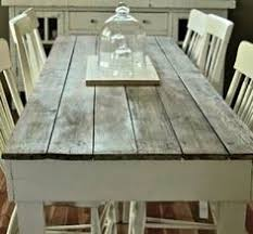 barn kitchen table i really love this look for a kitchen table ive decided that i want my house to a have a cottage feel with some aspects of a farm house i just love the