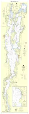 Long Lake Ny Depth Chart New Nautical Chart Of All Of Lake Champlain Vermont In 2013