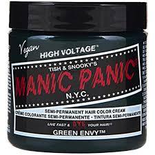 Manic Panic Semi Permament Haircolor Green