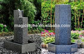 outdoor wall fountains modern the best 100 contemporary outdoor water fountains image collections