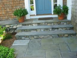 front step construction