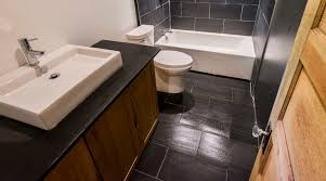 view in gallery slate bath