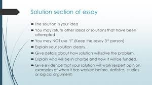 problem solution essay ideas laredo roses what are some for a  how to write your problem solution essay cynthia baxter ed s what are some ideas for