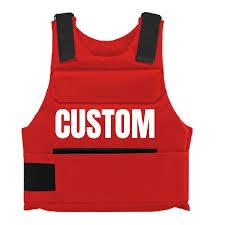 Bullet Proof Vest Rating Chart Red Custom Bulletproof Vest