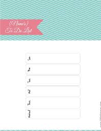 Cute Contact List Template Free Printable To Do List Print Or Use Online Access