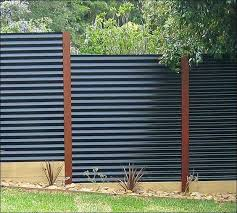corrugated metal fence cost how to build a corrugated metal fence modern corrugated metal fence cost
