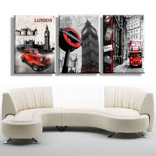 new 3 piece free shipping hot sell modern wall painting london