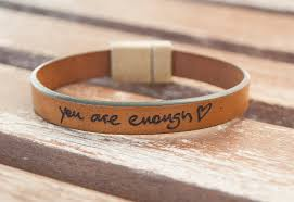custom handwriting bracelet signature bracelet actual handwriting best friend gift personalized memorial gift handwriting jewelry leather