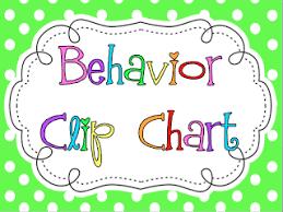 Kinderkids Fun Behavior Clip Chart Calendars