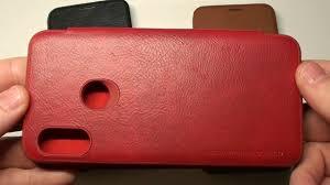 <b>Чехол</b>-<b>книжка для Xiaomi Mi A2</b> Lite Nillkin Qin видеообзор ...
