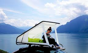 sebastian maluska creates a simple affordable and lightweight rooftop tent