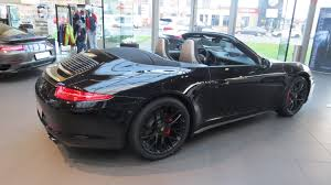 porsche 911 2015 black. 2015 porsche 911 carrera gts cabriolet black