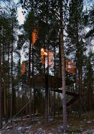 invisible tree house hotel. Mirrorcube Tree House Hotel In Sweden. Seen Blending By Its Reflection Of The Trees Invisible T