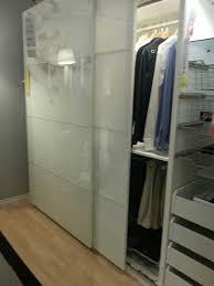 ikea closet doors