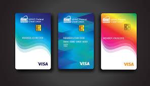 Visa Card Designs Nswc Fcu Credit Card Designs On Behance
