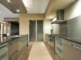 modern galley kitchens small kitchen designs