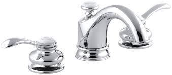 kohler vanity faucets.  Kohler KOHLER K122654CP Fairfax Widespread Lavatory Faucet Polished Chrome   Touch On Bathroom Sink Faucets Amazoncom Inside Kohler Vanity