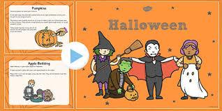 All About Halloween Powerpoint Ks1 Halloween Pumpkin October