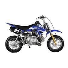 50cc blue moto dirt bike