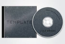 Blank Cd Cover Free Download Vector Cd And Cd Cover Design Template Free Eps File