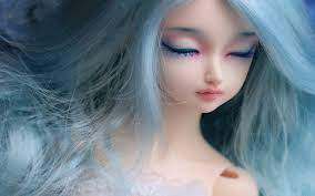Toy Doll Looking Cute Sweet Pretty And ...