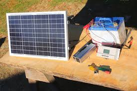 how to build a basic portable solar power system camping boating off grid living you