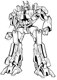 Small Picture Amazing Optimus Prime in Transformers Coloring Page Download