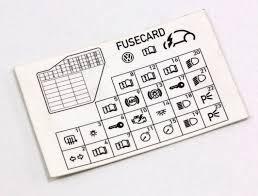 dash fuse box diagram card vw beetle 98 10 1c0 010 232 k dash fuse box diagram card vw beetle 98 10 1c0 010 232 k