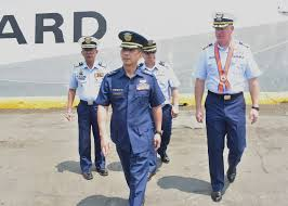 U S Coast Guard National Security Cutter Bertholf Visits
