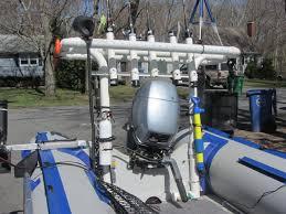 boat fishing rod rack