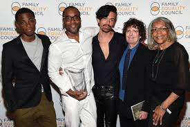 Lee Daniels, Billy Hopkins, Liam Daniels, Jahil Fisher, Clara Mae Daniels -  Lee Daniels and Billy Hopkins Photos - Family Equality Council's 2015 Night  At The Pier - Zimbio