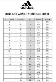 Adidas Superstar Size Chart 35 Veritable Adidas Junior Size Chart