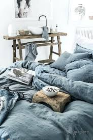 gray blue linen duvet cover and grey covers green