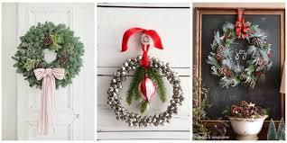 40+ DIY Christmas Wreath Ideas to Deck Out Your Door