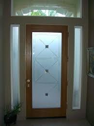 frosting glass door etched glass entry door windows frosted frosted glass front door panel