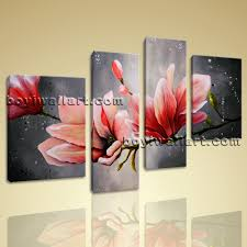 huge canvas wall art tulip flower abstract floral painting giclee print framed on photo canvas wall art with huge canvas wall art tulip flower abstract floral painting giclee